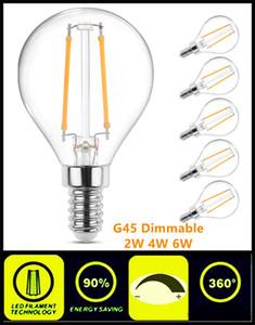 LED Light Bulbs G45 Dimmable High Quality E12 E14 E27 E26 B15 B22 Energy Saving Bulbs Globe Bulb for Chandelier Lamp Home Pendant Light
