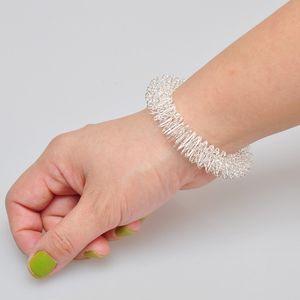الرجال والنساء المعصم اليد الوخز بالإبر سوار معدني تدليك الدائري الرعاية الصحية أداة المعصم الاسترخاء مدلك اللوازم SN