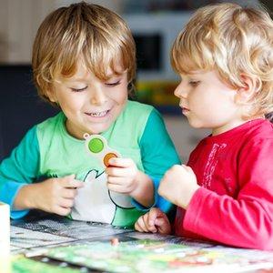 Hidget Simple Dimple Sensosory Toys Силиконовые листовые доски для мозга Teasers Лучшие подарки Образовательная игрушка для детей