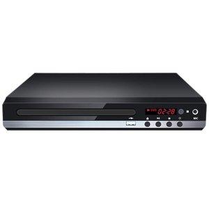 Reproductores MP4 229 DVD Player 1080P TV HD con control remoto para la oficina en el hogar (TLUP)