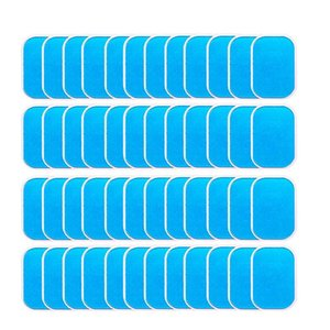 40Pcs Abs Stimulator Trainer Replacement Gel Sheet Abdominal Toning Belt Muscle Toner Ab Trainer Accessories