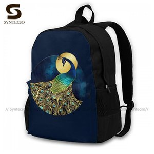School Bags Runner Sweet Backpacks Peacock Backpack Polyester Pattern Qjwxg