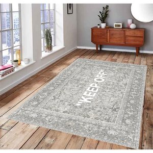 Halten Sie 1 klassische gemusterte, Lüfter-Teppich-Nichtrutsch-Bodenteppich, Teen Teppich, Bereich Teppich 210301