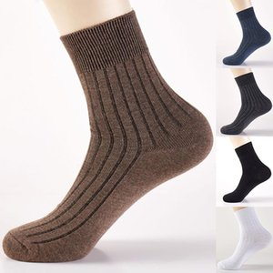 Men's Socks 2021 And High Quality Absorbs Sweat Autumn Winter Leisure Pure Color Business Soft Tube Men Cotton
