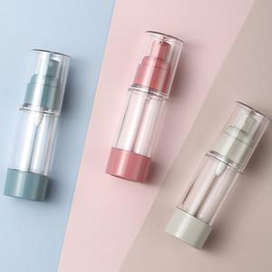 Vacuum Travel Bottle for Cosmetic Empty Airless Lotion Cream Pump Plastic Container Spray Dispenser 15ml 30ml 50ml GWB4962