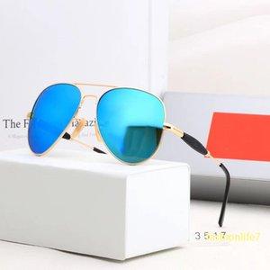 Luxurys Designers Солнцезащитные очки для мужчин и женщин Двойной мост 3517 Мода на открытом воздухе на открытом воздухе для вождения магазина Рекомендация пилота экспериментальные очки металлические полные рамки UV400