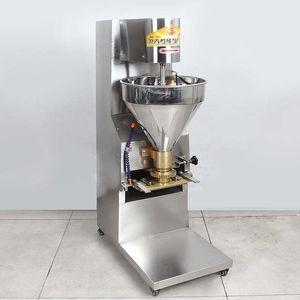 Paslanmaz Çelik Top Şekillendirme Makinesi Biftek Köfte Sebze Karışık Otomatik Köfte Makinesi 220 V 110 V Köfte Üretim Makinesi