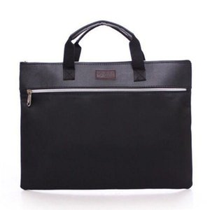 Business Card Files PU Leather File Folder-For-Papers Office Documents Bag Brief Case Organizer Carpeta