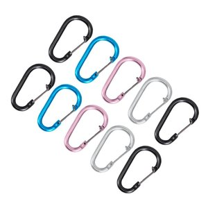 Cords, Slings And Webbing 20pcs Practical Bottle Carrying Holders Portable Kettle Carabiners (Random Color)