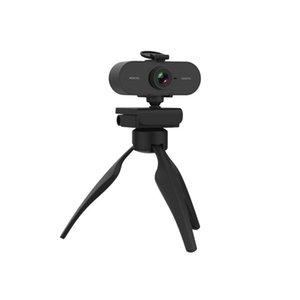 Nova webcam 2k usb câmera web full hd 1080p com microfone para computador computador mac laptop desktop skype youtube streaming came tripé