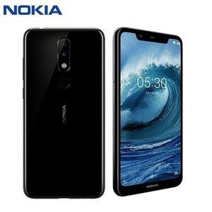 Walkie Talkie Original Nokia X5 Smartphone Po Mobile Android 5.1 Plus Global Older Machine LTE Version Fingerprint 3GB 32GB
