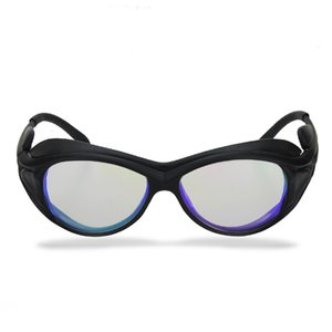 Optical Glass OD6+ 1535nm Protective Safety Goggles 1500nm-1600nm laser safety glasses for Beautician wear