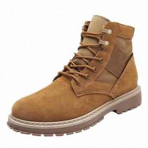 Hombres lásperales Botas para hombres Zapatos de invierno Tamaño 39 44 Tobillo cálido Botas de encaje para arriba Botas de invierno Zapatos de peluche zapatillas de peluche para hombre 52lp #