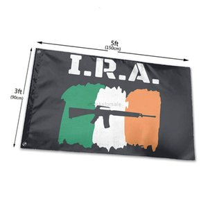 Irish Republican Army Tapestry Courtyard Flag 3X5FT Ira Terracepot Balcony Outdoor Decoration Lawn Garden Flower Flag RQD6