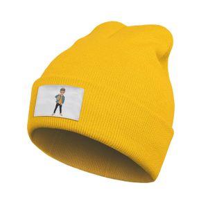 Unisex Fashion Beanie Skull Hats Bad Bunny Superme Slouch Cuffed Plain Knitted Cap
