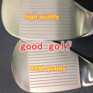 2021 Nouveaux quartiers de golf Qualité OEM TOUTES DE MARQUE CADES DE MARQUE NOIR / SILVRE / GREY COULEURS 48 50 52 54 56 58 60 62 3PCS / Lot Clubs de golf