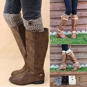 Warmers Winter Leggings Ladies For Leg Cotton Button Crochet Knit Boot Socks Toppers Cuffs Designer Belts Women leXHIVXP