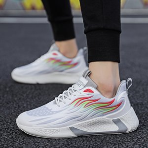 2020 Trend New Men Sports Shoes Comfortable Outdoor Trend Men Sneakers Rubber Hard-Wearing Walking Shoes Running Shoes Non-slip