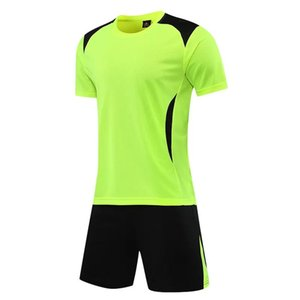 Summer sports suit men's casual running suit, short-sleeved T men's sportswear training suit, basketball suit and football suit