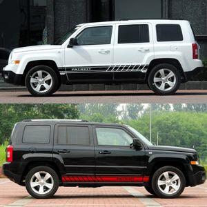 For Jeep Renegade Wrangler JK Rubicon Cherokee Patriot Trail Hawk Compass Auto Accessories 2PCS Car Stickers Vinyl Film Decal