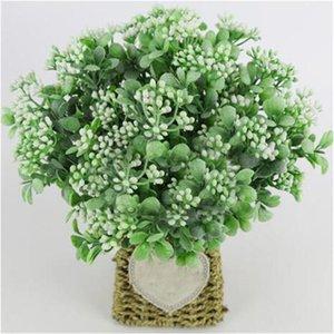 인공 꽃다발 시뮬레이션 밀라노 과일 꽃꽂이 작은 야생 과일 홈 장식 식물 테이블 장식