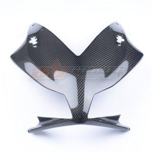 Мотоцикл черный передний обтекатель головы носа для носа для Honda CBR1000RR 2012-2016 полное углеродное волокно 100% твил