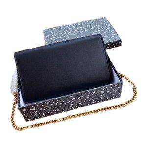 Caviar Grained Bag Luxury Shoulder Cross Body Bags Gold Letter Logo Fashion Boutique Flap 24 CM Golden Chain France Designer Womens Wallets Lady Purse M3