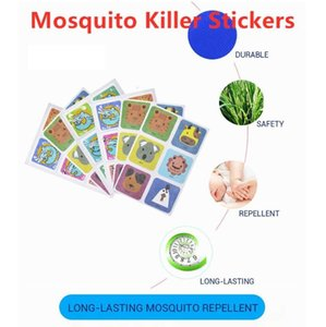 Professional Mosquito Killer Stickers DIY Mosquito Repellent Patches Cartoon Anti-mosquito Repellent Stickers For Indoor Outdoor Kid Adult