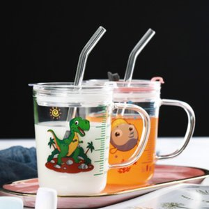 Wholesale Wedding Birthday Party Strait Clear Glass Drinking Straws Thick Straws bar tools Free Shipping EEB5599