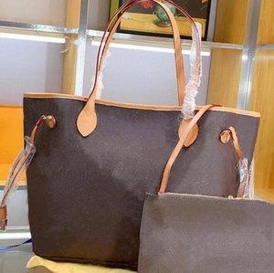 2pcs Clásico diseñador para mujer bolsos para mujer Bolsos de las señoras Crossbody Hombro Totes compuestos Monedero femenino con billetera
