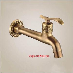 2021 New Hot Sale Antique Bibcock, Outdoor Faucet, Brass Decorative Garden Tap washing Machine Water Mixer Tap Free Shipping Jkzh