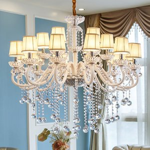 Living room led chandeliers clear crystal chandelier Large Big crystal chandelier Lighting Modern Hotel Chandeliers Fixture