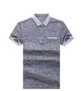 Stehkragen Designer Tshirts Sommer Kurzarm Pullover Herren Casual Männliche Tops