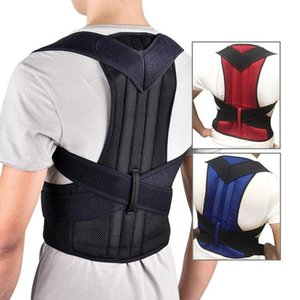 Men's Body Shapers Posture Corrector Back Brace Clavicle Support Stop Slouching And Hunching Adjustable Trainer Unisex