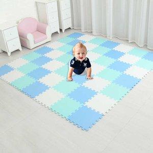 MEI QI COOL baby EVA Foam Play Puzzle Mat  18 or 24 lot Interlocking Exercise Tiles Floor Carpet Rug for Kid,Each 29*29CM H0831
