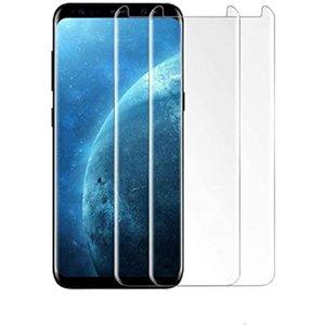 Protezioni per telefoni cellulari Glue Full Glox Temperato 3D 9H Copertura schermo antidefrlION-Proof Schermate Protector Pellicola per iPhone 12 Mini Pro Max Samsung S21 S21plus s21ultra