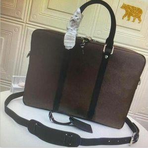 M52005 N41466 مساء حقائب صغيرة بوابة وثائق فياغسية حقيبة الأعمال التجارية حقيبة كتف حقيبة يد حقيبة يد حقيبة الكمبيوتر