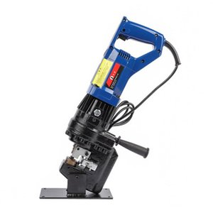 Hydraulic Tools Portable Electric Punching Machine Puncher Hole Opener Copper Plate Angle Iron Channel Steel