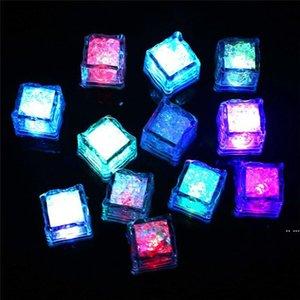 2021 أضواء led polychrome أضواء حفلة فلاش led متوهجة مكعبات الثلج الوميض وامض ديكور تضيء بار نادي الزفاف جديد DHD5327
