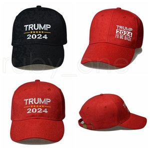 Donald Trump 2024 Baseball Caps Cotton Sunscreen 2024 USA President Election Support Cap Trump Baseball Hats Party Hats RRA4173