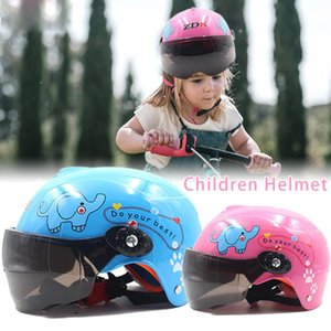 Children Motorcycle Helmet Sports Craniacea Moto Motorcycle bike Open Face Helmet for Multi Pattern Anti-Vibration Riding