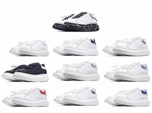 [ASAP Gönderen] Luxurys Tasarımcılar Mens Bayan Klasik Beyaz Espadrilles Flats Platformu Boy Adam Ayakkabı Espadrille Düz Sneakers
