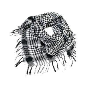 100x100cm de randonnée en plein air écharpes arabe tactique foulard de l'armée de l'armée de l'armée avec gland pour hommes femmes bandana foulard masque