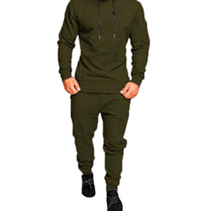 Mens New Sets Camouflage Autumn Running Casual Jogger Tracksuit Men Sweatshirt Sports Set Gym Zipper Slim Fit Male Sport Suit