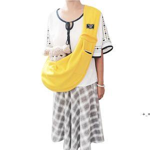 Pet Supplies backpack dog bag go out portable kangaroo bags one shoulder slant over OWF9567