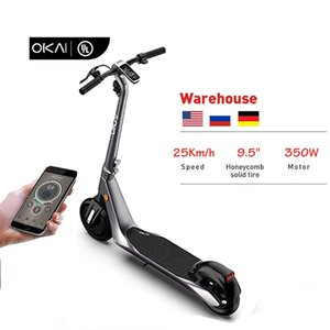 Best Selected 2021 Coolest Offroad Adult OKAI ES500 25km h 36V 7.8Ah Electric Scooter