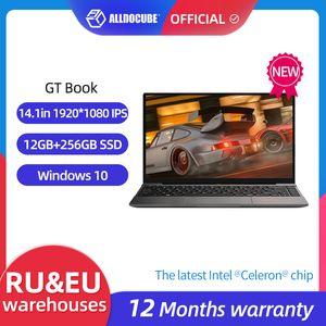 ALLDOCUBE GT Book Windows 10 Laptops 12GB LPDDR4 256GB SSD Intel Celeron N5100 1920×1080 IPS Notebook 14.1 inch WiFi6