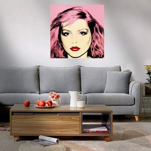 Andy Warhol Debbie Harry Home Decoration Handcrafts  HD Print Large Oil Painting On Canvas Wall Art Canvas Picture 210307