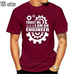 Midnite Star Summer Men's T-shirts Ropa 2019 Confíe en mí Soy un ingeniero Letras Cotton T Shirt Fashion Popular Hot Harajuku L0223