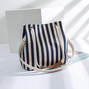 Мешки для подгузников полосатый дизайн холст мамочка сумка простые прочные женщины подгузника подгузник на открытом воздухе портативный корпус материнства организатор 1 шт.